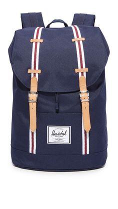 HERSCHEL SUPPLY CO. HERSCHEL SUPPLY CO. ASPECT RETREAT BACKPACK. #herschelsupplyco. #bags #leather #nylon #backpacks #