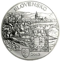 Lovely Old Hungarian City on a Silver Coin  #coin #treasure #city #silver