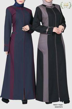 Abaya Noir, Abaya Fashion, Fashion Dresses, Muslim Long Dress, Moslem Fashion, Hijab Fashion Inspiration, Batik Dress, Hijab Dress, Dress Sewing Patterns
