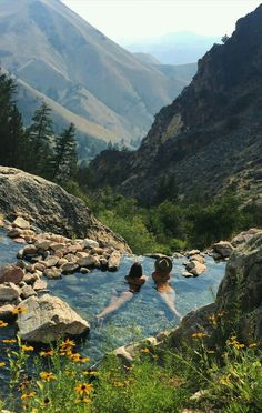 Hot springs, Idaho USA