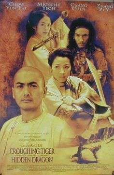 Crouching Tiger Hidden Dragon Movie Poster #2 - Internet Movie Poster Awards Gallery