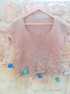 Knit test Top Jane par Florence