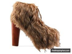 jeffrey campbell shoes lita shag tan  The Shopping Fans