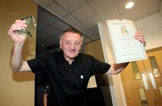 Eddie Baker won the Individual Volunteer Award for overcoming adversity