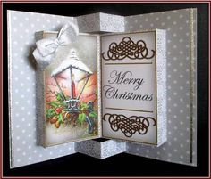 Silver Lantern Double Fold 3D Card Mini Kit in Card Gallery
