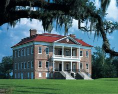 Drayton Hall - It was built 1742 and is the only plantation house on the Ashley River to survive both the American Revolution and Civil War intact. Unlike other historic homes that are staged or fixed to look like a certain period in time, the Drayton heirs preserved the house in all but original condition.