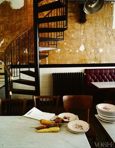 Vogue Living's blog HOME ABOUT CHAMPAGNE DINNER SERIES STYLISH PARISIAN DINING: BONES RESTAURANT