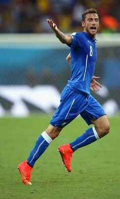 Marchisio : 2014 FIFA World Cup Brazil : 14th June, 2014 England 1-2 Italy : Azzurri to victory
