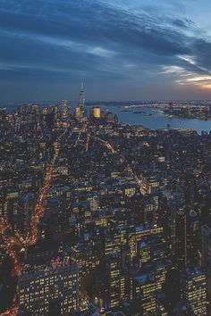 Concrete Jungle at sunset by: Claudia Portmann-Caminada #newyorkcityfeelings #nyc #newyork