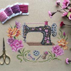 Likes, 56 Comments - Merve Creative Embroidery, Embroidery Art, Cross Stitch Embroidery, Embroidery Designs, Cross Stitch Alphabet Patterns, Cross Stitch Designs, Kawaii Cross Stitch, Vintage Cross Stitches, Perler Bead Art