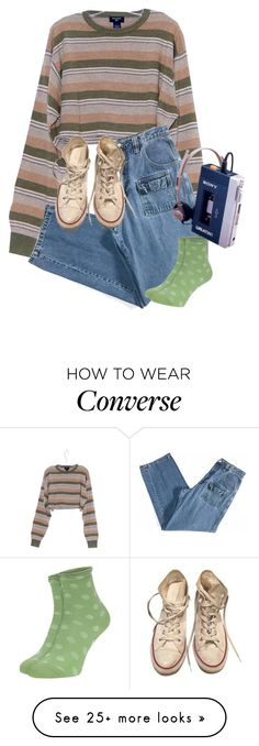 """Mambo No. 5"" by doe-eyes on Polyvore featuring Converse and Garcia"