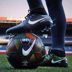 """""""Wear with pride. Play with purpose. The new Nike Football Black History Month collection is coming to the Nike Football App February 12th. #Magista #Ordem"""""""