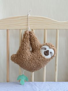Custom Listing For Jane Lopez, Sloth Musical Soft Toy (gray)