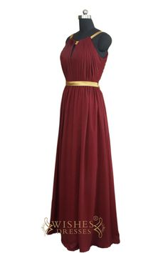 1ad221d92e2 Affordable A-line Slim Long Bridesmaid Dress  Formal Dress AM456