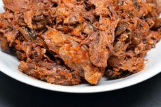 Sous Vide Grass Fed Shredded Beef Roast