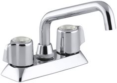 Coralais Utility Sink Faucet with Blade Handles