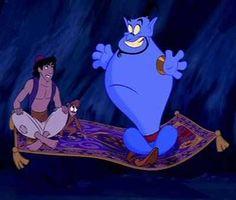 """Ali and Genie... """"You ain't Neva had a friend like me"""""""
