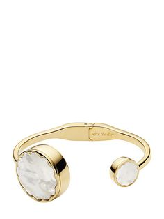 scallop hinge bangle tracker | Kate Spade New York
