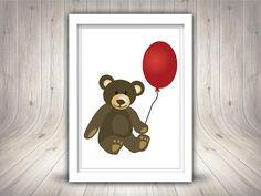 Teddy Bear Clip Art Cute Teddybear Clipart Printable Teddy  #teddybear #Printableteddybear Teddybear, Cute Illustration, Digital Prints, Clip Art, Printables, Illustrations, Handmade Gifts, Etsy, Vintage