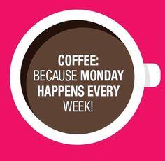 Elke (maan)dag op Kantooor begint met een lekker kopje koffie