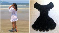 Vestido Saída de Praia em Crochê | Parte 3-3