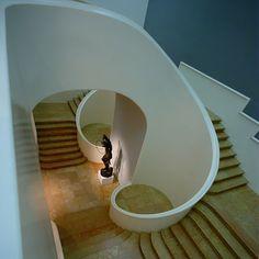 Escalier Art Déco, musée des Beaux-Arts, Nancy