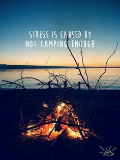 Not camping enough