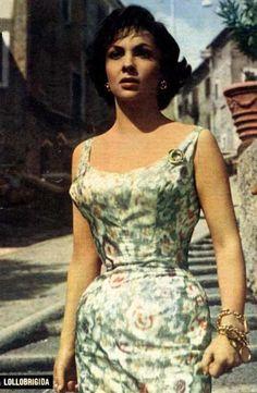 Gina Lollobrigida, una belleza del cine italiano