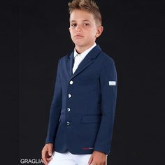 Childrens Show Jacket INOLTRE by Animo Animo Italia £357.00 http://www.justridingshop.com/collections/animo-italia?page=6