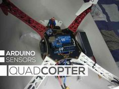 DIY quadricopter arduino Gadgets Wishlist Pinterest