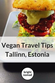 Vegan Tallinn Guide: Tallinn is a sweet little city with some excellent vegan food. Here's where to find it. For its size, Tallinn has a surprising number of vegan and vegan-friendly restaurants. It's a small city that you are likely to visit just for a few days, and in that time you'll have a nice selection of places to have a good vegan meal.