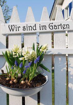 mamas kram: Wir sind im Garten
