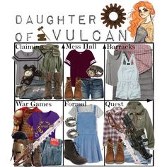 """Daughter of Vulcan ~ Wardrobe"" by liesle on Polyvore"