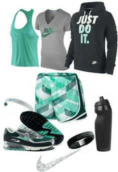 Womens fashion green nike gym outfit find more women fashion ideas on www. : Womens fashion green nike gym outfit find more women fashion ideas on www. Nike Outfits, Womens Workout Outfits, Sport Outfits, Fitness Outfits, Running Outfits, Cheer Outfits, Nike Free Run, Nike Free Shoes, Nike Shoes Outlet