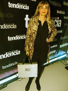BKD estuvo presente en la Fiesta' 11 de Tendencia. Teté Coustarot, impecable, con su Kit de productos Black Diamond.