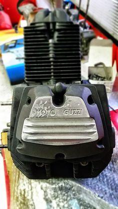 Moto Guzzi V65 , blocco motore