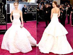 Best Red Carpet Dresses 2013; Jennifer Lawrence Oscars 2013 gown : People.com