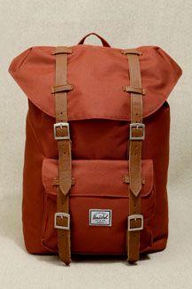 Herschel Rust Little America Backpack