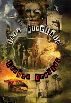 Dave McKean - Book Cover - 2002 - Iain Sinclair - 'London Orbital' Graphic Design - Illustration