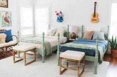 Gender Neutral Shared Kids' Bedroom