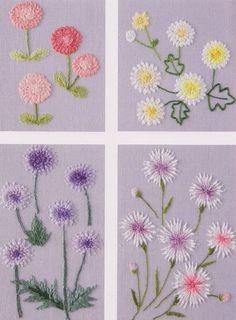 flower in my garden hand embroidery stit…_来自豌豆荚子的图片分享-堆糖网