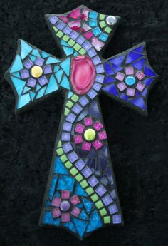 Smaller cross from tinypiecesmakeart.comwww.facebook.com/TinyPiecesMakeArt?fref=ts