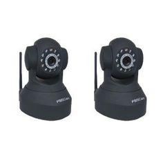 2 Pack Foscam FI8918W Wi-Fi IP Camera Pan:300?& Tilt:120?+ Freely control IR-LED on/off and High image & video quality,2-way audio,night version -Black by Foscam. $142.48. The FI8918W is a wireless or wired, pan/tilt IP camera solution for indoor use. It combines a high quality digital video camera, remote pan/tilt ability with network connectivity and a powerful web server to bring clear video to your desktop or smartphone from anywhere on your local network or over the...