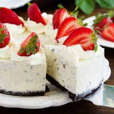 Cheesecake de Oreo Frío