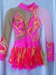 Justaucorps de gymnastique rythmique compétition / robe par Savalia