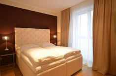 City Apartments Vienna Austria - high class furnished flat near Stephansplatz, perfect for business travelers City Apartments, Luxury Apartments, Vienna Austria, Your Perfect, High Class, Hotels, Flat, Business, Bed