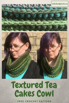 Free Crochet Pattern - The texture and the color stripes really make each one unique and fun.
