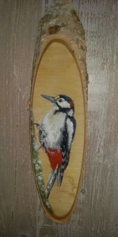 Painting on wood by me