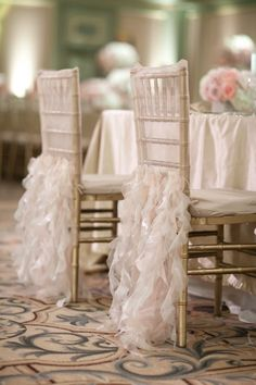 Love this detailing on the Bride & Groom seats
