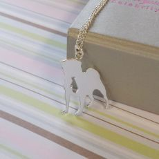 'Dexter' the Pug Sterling Silver Pendant By Alyssa Smith